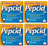Maximum Strength Pepcid Ac Tablets brXuMe, 200 Count