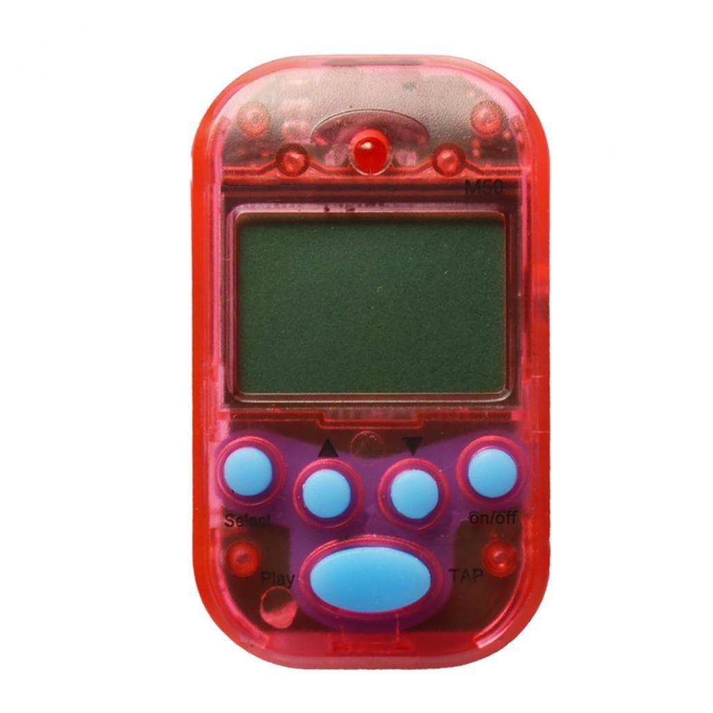 Professional Mini Digital écran LCD Métronome à clipser Portable Beat Tuner Red taille unique SunYueY