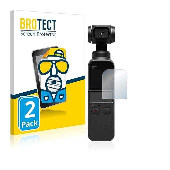Proteggi 2x BROTECT Pellicola Protettiva DJI Osmo Pocket Display + Lente