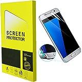 Samsung Galaxy S7 Protection écran [3D Full Coverage], Protectify [2 Pack] Côte à Côte Plein écran Bord incurvé Ultra Claire HD PET Film Screen Protector pour Samsung Galaxy S7 - Anti-rayure, Anti-traces de doigts,Haute-réponse, Haute transparence- Garantie de Remplacement de 18 Mois