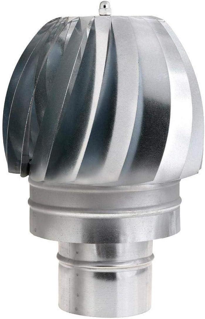 WOLFPACK 22011128 Sombrero Extractor Galvanizado Para Estufa 100mm