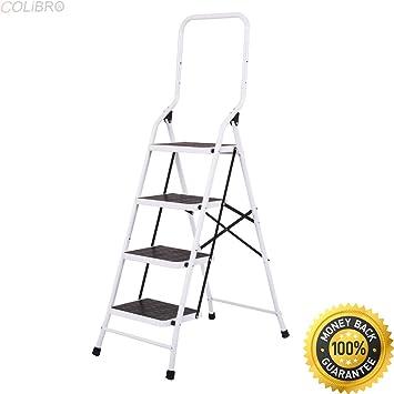 Cool Colibrox 2 In 1 Non Slip 4 Step Ladder Folding Stool W Inzonedesignstudio Interior Chair Design Inzonedesignstudiocom