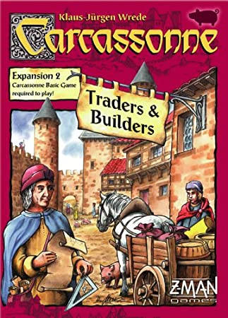 Carcassonne Exp 2 Traders and Builders - Juego de Tablero (Z Man ...