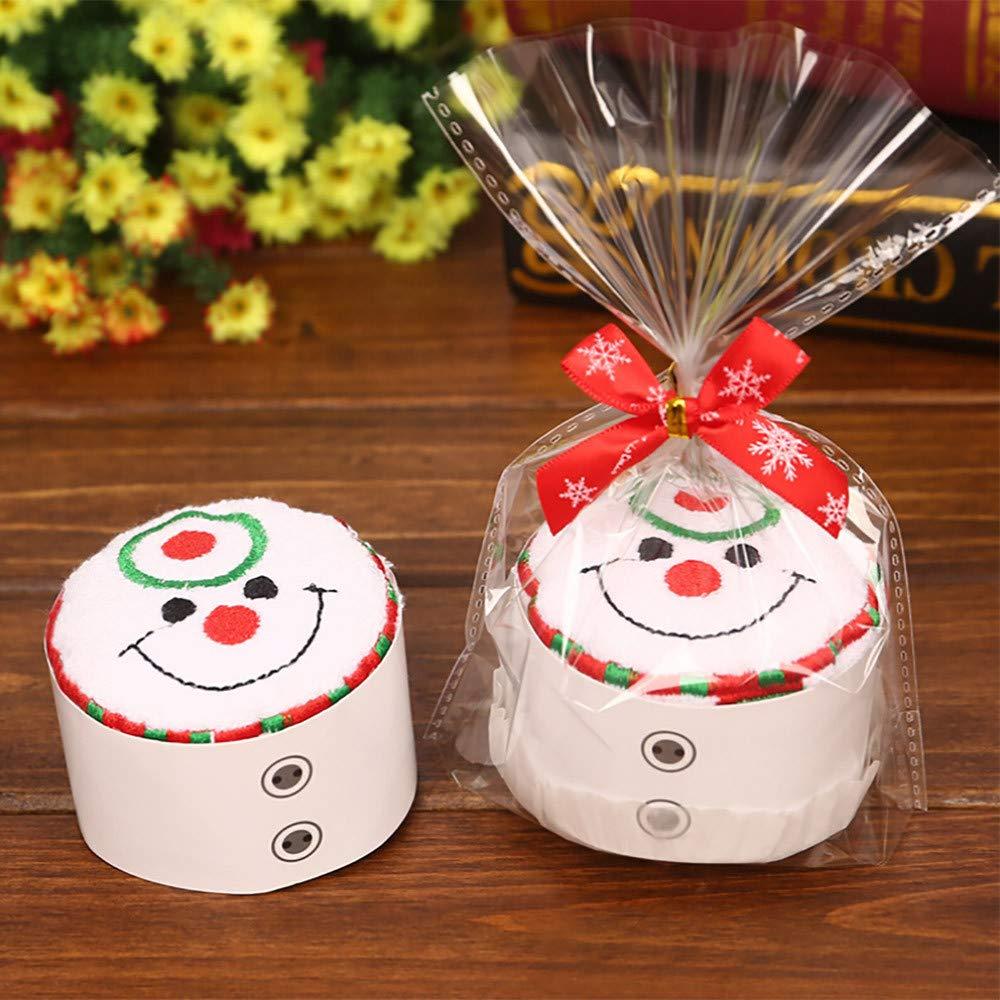 Amazon.com: Paño de cocina de algodón con diseño de muñeco ...
