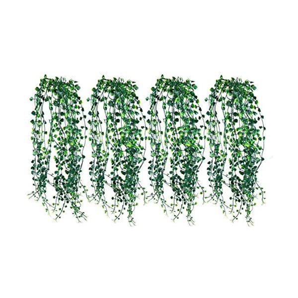 Artificial-Ivy-Fake-Hanging-Vine-Plants-Decor-Plastic-Greenery-for-Home-Hotel-Office-Kitchen-Wedding-Party-Garden-Craft-Art-Decor-Hanging-Basket-Pack-of-4PCS