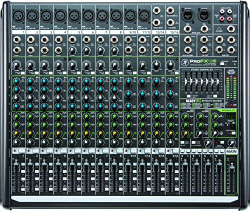 Mackie PROFX16V2 16-Channel 4-Bus Compac - Four Channel Compact Shopping Results