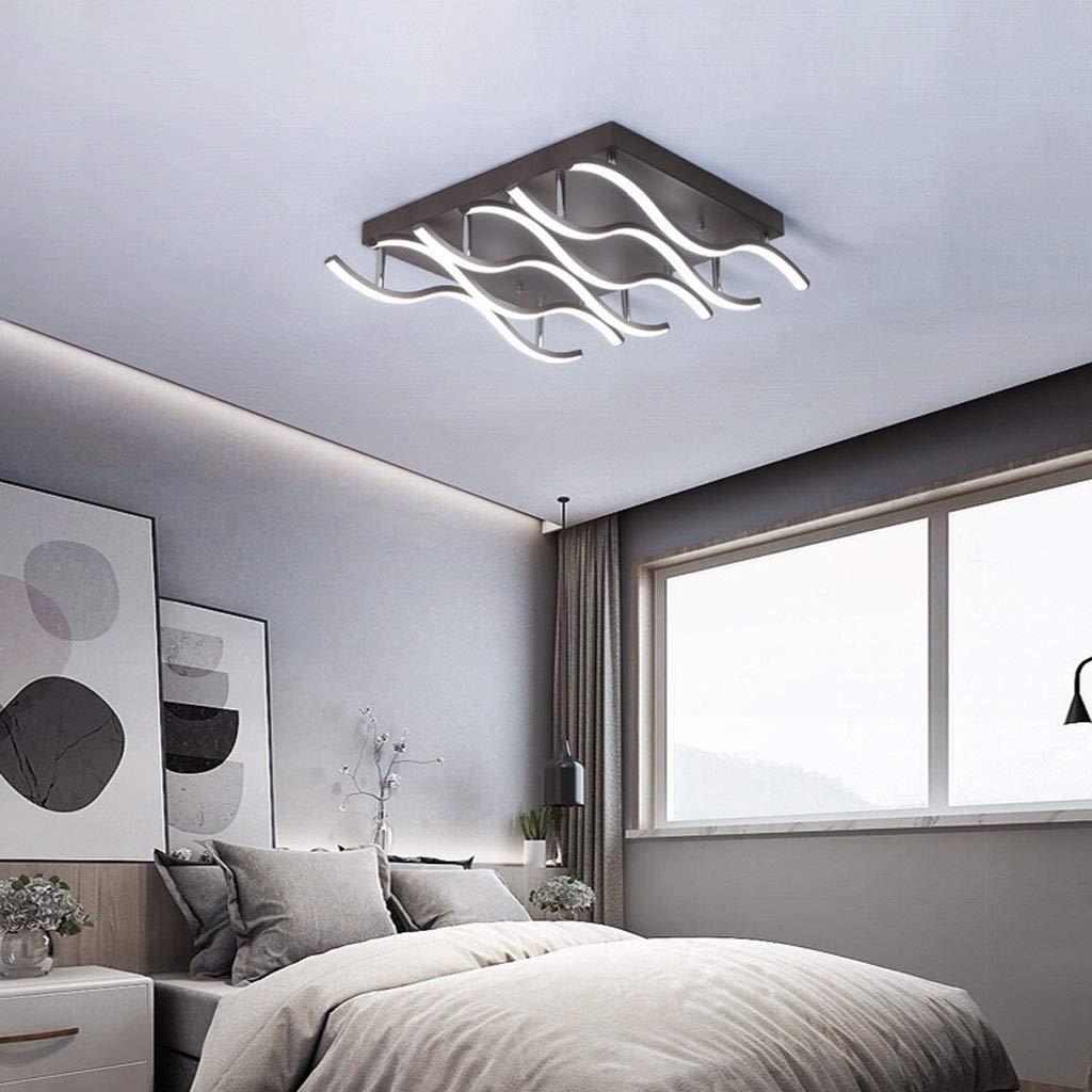 導かれたアルミニウム格子天井灯、居間のための極度の明るい浴室ライト、寝室、リモコン付きキッチン   B07T5DDXL3
