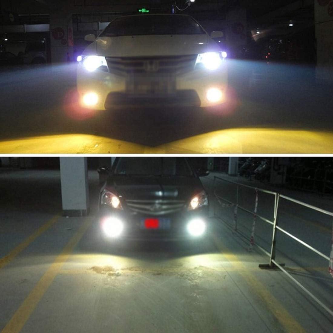 kit de conversion de lampe au x/énon Kit de conversion de lampe au x/énon 2 PCS 9012 55W 5500K HID Ampoules Phares au x/énon Lampes AC 12V