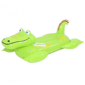 Alligator Cocodrilo Hinchable con Asas Infantil 102 cm x 66 ...