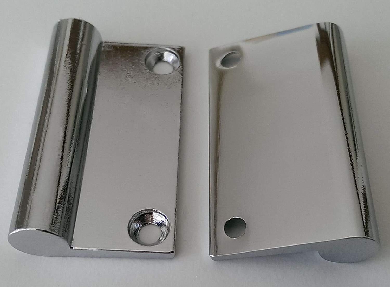Spiegelschrankgriff T/ürgriff Spiegelschrank BA 32 mm Verchromt Schrankgriff *514