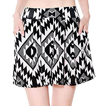 Simplicity Harem Style Summer Shorts With Side Pockets, Stretch Fit, S/M