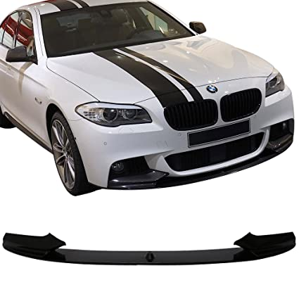 Pre Painted Front Lip Fit For 2011 2016 Bmw F10 5 Series Sedan Performance Style Black Sapphire Metallic 475 Pp Bumper Spoiler Chin Bodykit Other