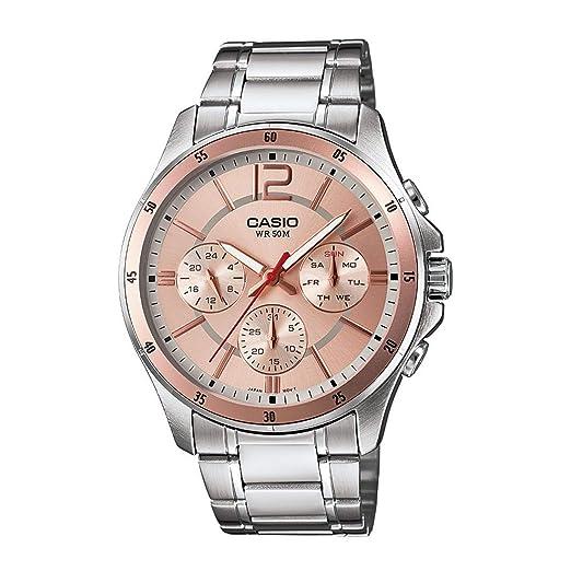 Amazon.com: mtp-1374d-9avdf Casio Reloj de pulsera: Watches