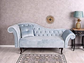 Umbekannt Samt Sofa Chaieselonque Ottomane Hollywood Couch