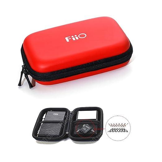 2 opinioni per FiiO HS7Borsa in rosso per FiiO X5e Fiio E12o Fiio X3e Fiio E11K