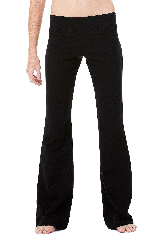 Bella + Canvas Ladies Cotton/Spandex Fitness Pant