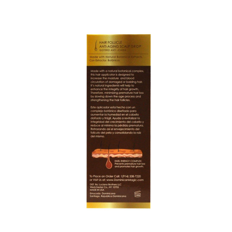 Amazon.com : Dominican Magic Anti Aging Shampoo, Scalp Drop ...