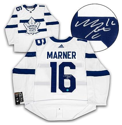 755578c00 Mitch Marner Toronto Maple Leafs Autographed Signature Stadium Series Adidas  Authentic Jersey
