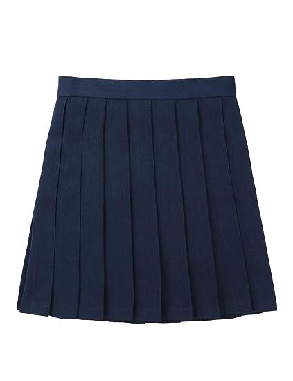 YiZYiF Falda Corta Disfraz Colegiala Mujer Uniforme Escolar Chica ...