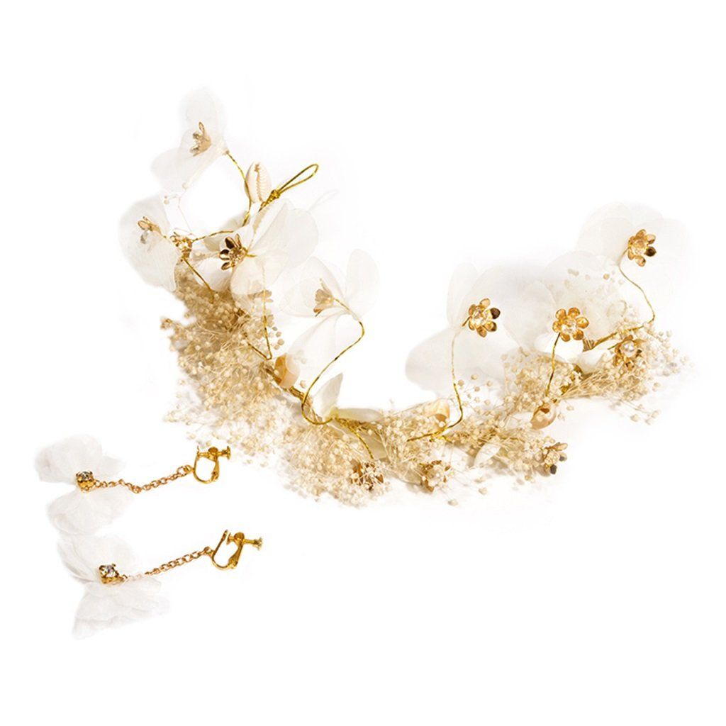 Wreath Flower Bride Tiara Crown Wedding Dress Super Fairy Dress Accessories Hair Accessories Knot Wedding Handmade Garland