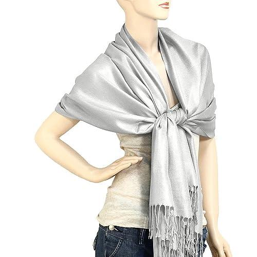 Falari Women's Soft Solid Colo...