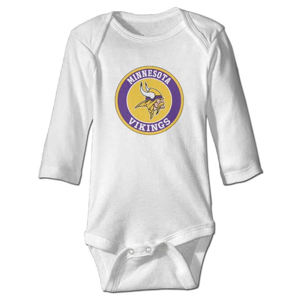 Football Minnesota-vikings-logo Newborn Infant Baby Romper Onesie