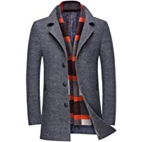Amazon Best Sellers: Best Men's Wool Jackets & Coats