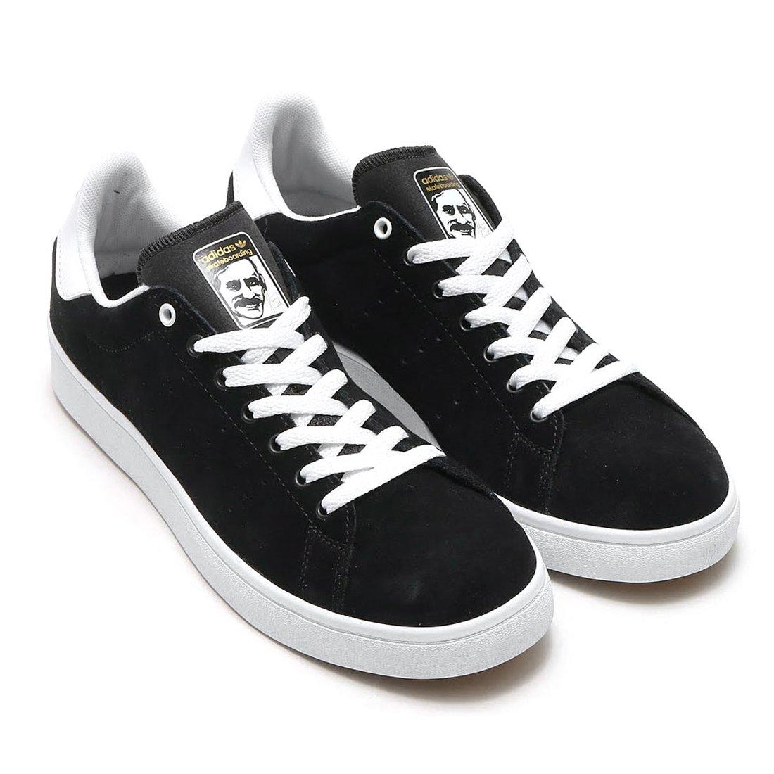 日本国内正規品 adidas アディダス スケートボーディング スタンスミス[STAN SMITH VULC] ブラック/ブラック/ホワイト BB8743 B06VW8WX71 29.5cm