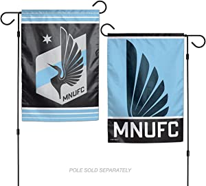 WinCraft Minnesota United Football Club Double Sided Garden Flag
