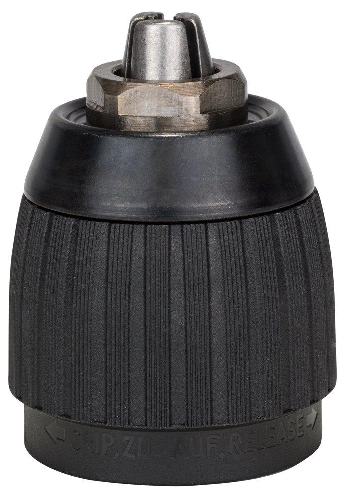 Bosch 2608572110 - Mandrino a chiusura rapida, 1,5-13 mm, 1,3 cm (0,5') - -20 5) - -20