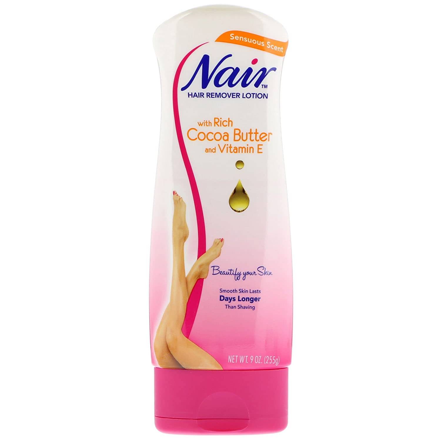 Amazon Com Nair Hair Removal Lotion Cocoa Butter 11 2 Ounce