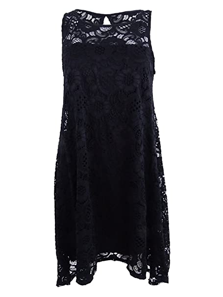 11714d120af83 ROBBIE BEE Signature by Women's Petite Lace Fit & Flare Dress (PS ...