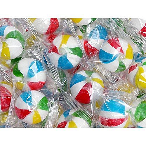Sassy Spheres Jumbo Beach Balls Hard Candy: 5LB Bag by YumJunkie