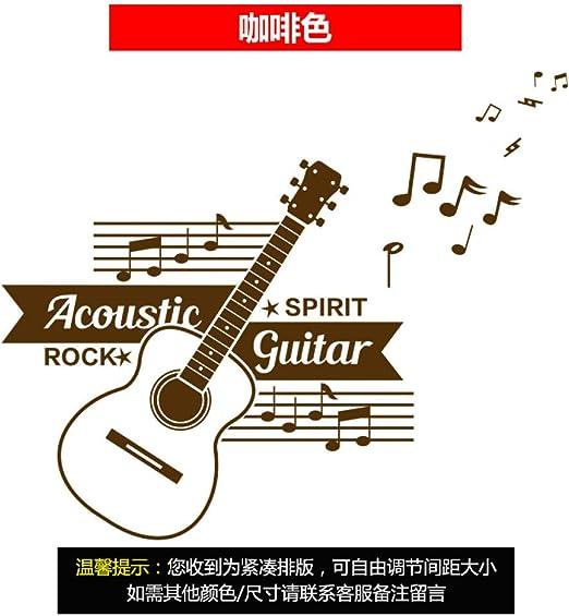 Notas Musicales Instrumento Musical Decoración De Guitarra ...