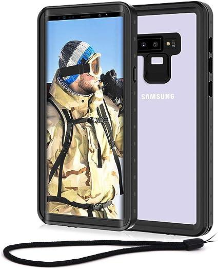 Beeasy Funda Samsung Note 9,Impermeable 360 Grados Protección IP68 ...
