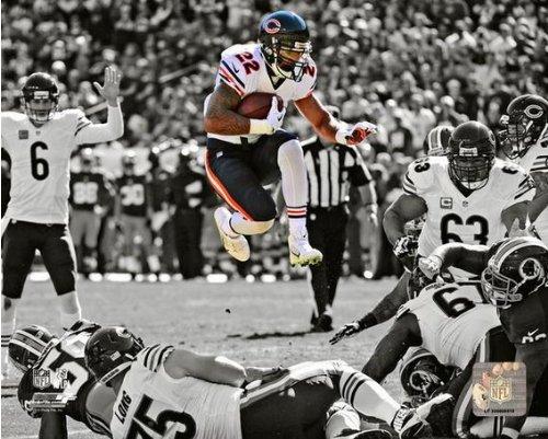 Matt Forte Chicago Bears 2013 NFL Spotlight Action Photo (Matt Forte Chicago Bears)