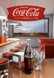 Empireposter - Coca-Cola - Diner - Größe (cm), ca. 47x67 - 3D Poster