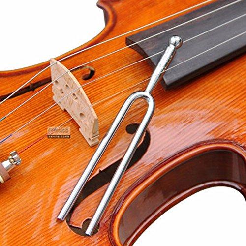 2 Pcs Tuning Fork Standard A 440 Hz, Musical Violin Guitar Ukulele Tuner Instrument Device