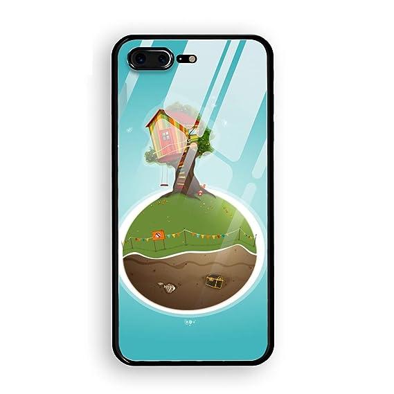 Amazon.com: Phone 7/8 Plus Tempering Case Ultra-Thin ...