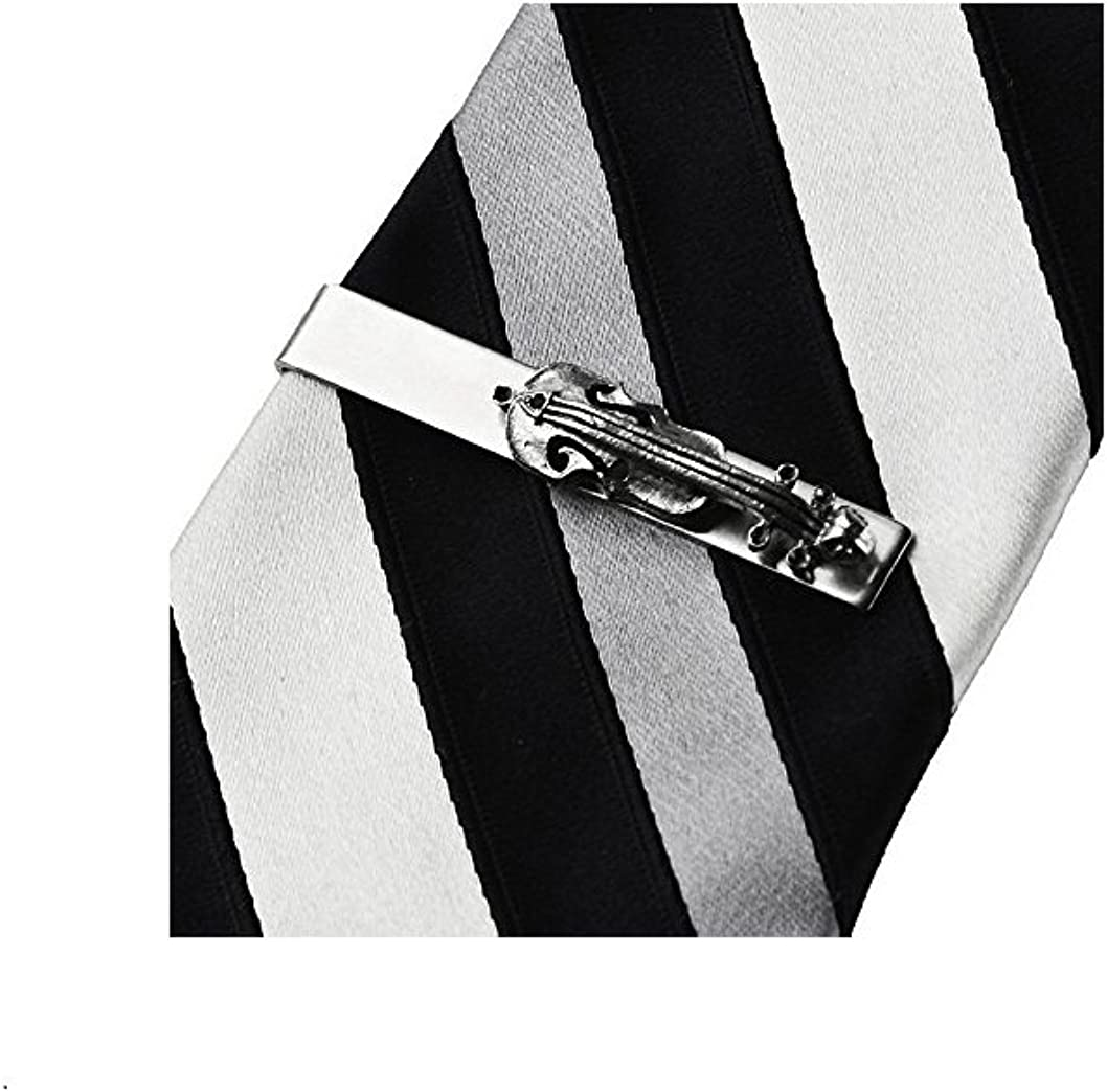 Quality Handcrafts Guaranteed Cello Tie Clip