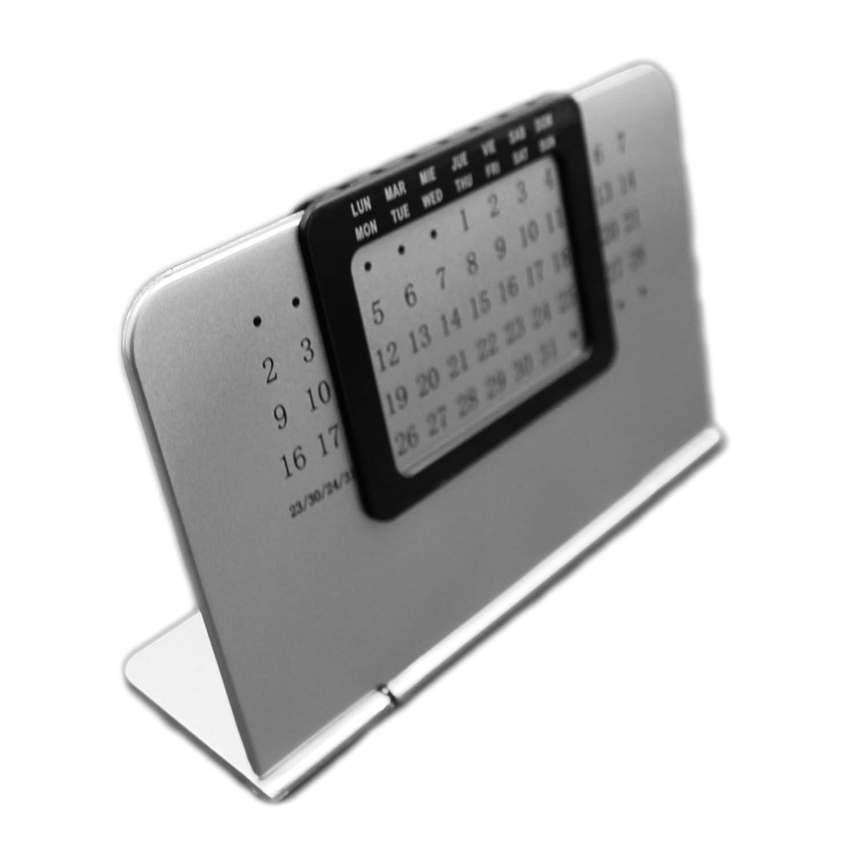 Calendario de escritorio eternas perpetuos elegante para el hogar y la oficina independiente Giftsbynet
