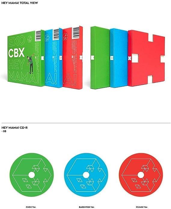 Hey Mama! SM Entertainment EXO-CBX Photocard Photobook Baekhyun ver. CD 1st Mini Album
