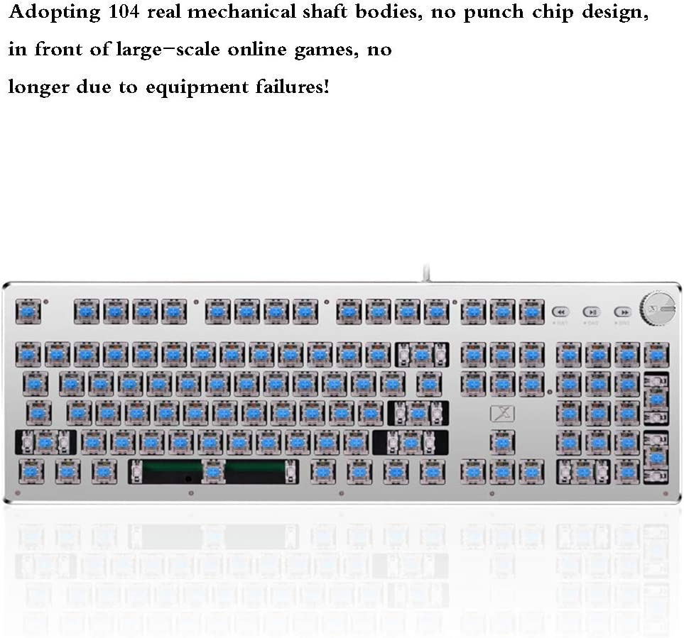 Waterproof Steampunk Keycaps for Mechanical Keyboard Typewriter Round Metal Style Cherry Double Shot Keycap Set Suitable for Gamers and Typists,Black Gaming Keyboard
