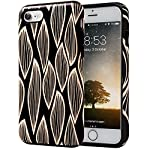 SKINU iPhone 7 Case, Designer Pattern [Shockproof 2 in 1 Hybrid] Rugged [Heavy Duty Combo] [Dual Layer] High Impact… 4 Easy snap-on form-fitted slim and light weight hybrid fashion case Large cutouts fit most cables while protecting the phone and camera Two-part construction of shock-absorbing TPU and durable hard polycarbonate