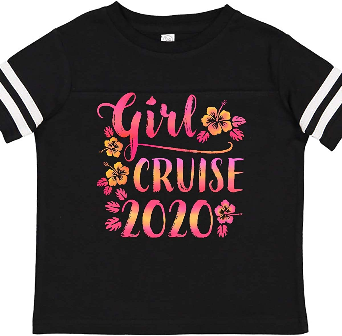inktastic Girl Cruise 2020 with Flowers Toddler T-Shirt