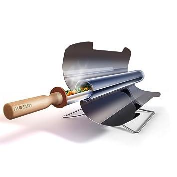 L.Atsain Portable Solar Cooker/Stove/Oven/BBQ Grill,Barbacoa Cocina