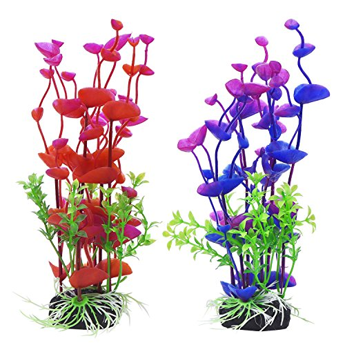 Mudder Artificial Aquatic Aquarium Decorations