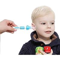Limpieza Electrónica Del Oído Vacuum Earwax Suckerfor Baby Adults LED Brillante PVC Ear Cuchara Earwax Eliminación Y Herramienta De Limpieza Del Canal Del Oído
