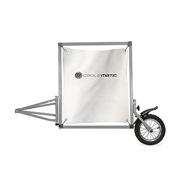 Cablematic - Remolque de bicicleta para publicidad y anuncios