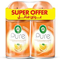 Air Wick Pure Air Freshener Mediterranean Sun Freshmatic Refill - Pack of 2 Pcs (250ml)